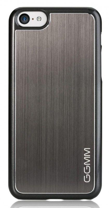 Чехол (клип-кейс) GGMM Proto-5C, для Apple iPhone 5c, темно-серый [ipc00303]