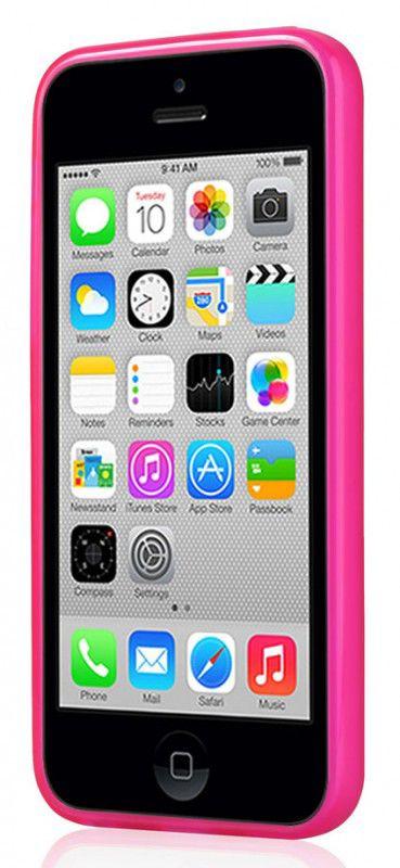 Чехол (клип-кейс) GGMM Pure-5C, для Apple iPhone 5c, розовый [ipc00104]