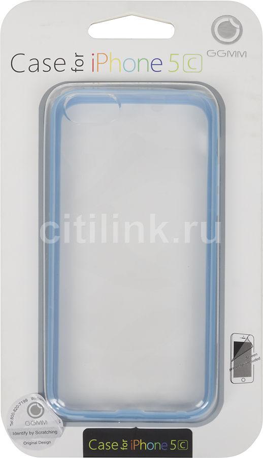 Чехол (клип-кейс) GGMM Sports-5C, для Apple iPhone 5c, голубой [ipc00505]
