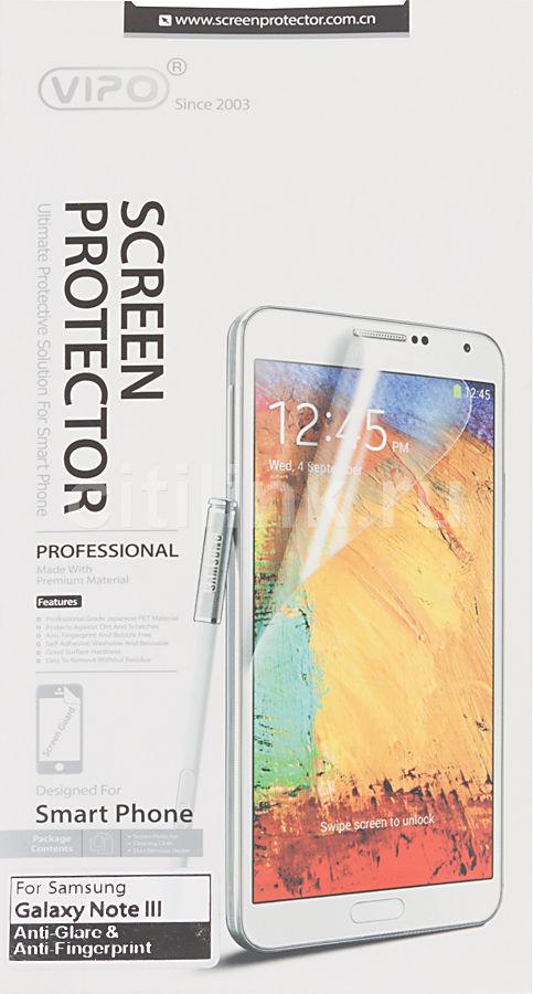Защитная пленка для экрана VIPO для Samsung Galaxy Note 3,  антиблик, матовая, 1 шт