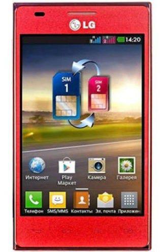 Смартфон LG E615  красный