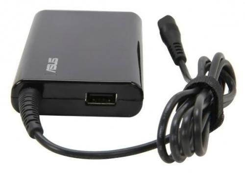 Сетевое зарядное устройство ASUS Combo Slim,  набор разъемов,  черный