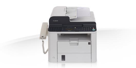 Факс CANON FAX-L410,  лазерный,  белый