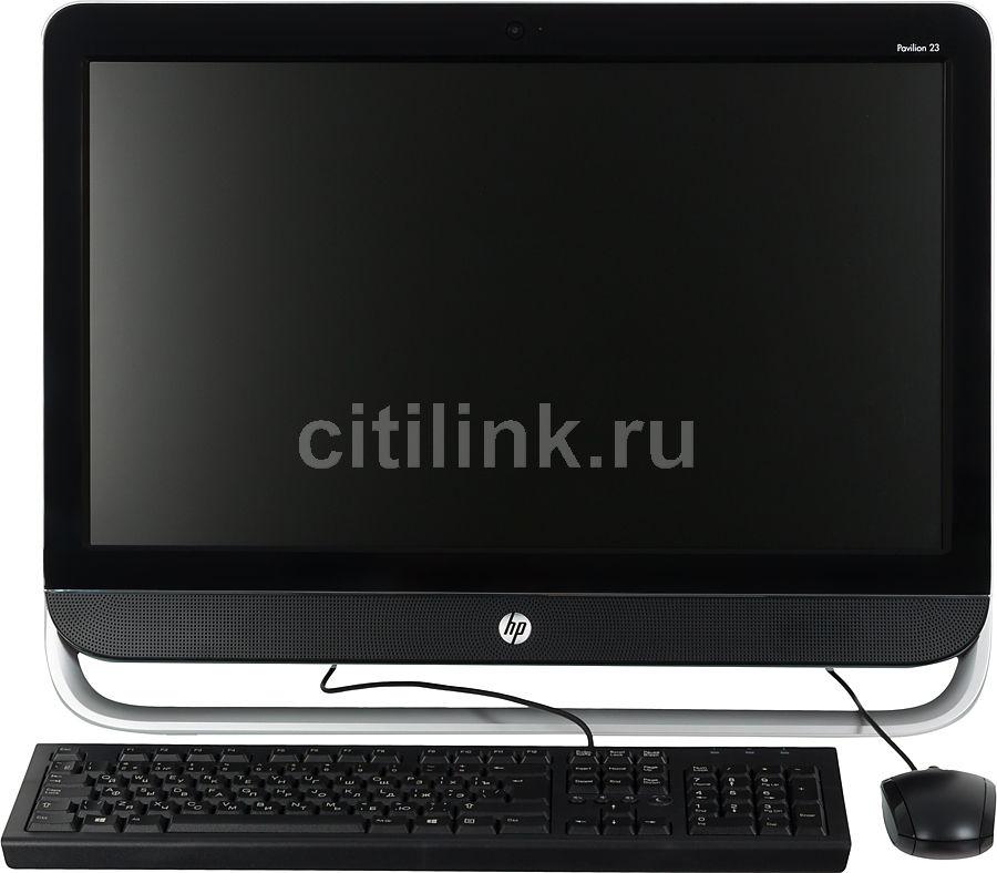 Моноблок HP Pavilion 23-b308er, Intel Core i5 3340S, 8Гб, 1000Гб, nVIDIA GeForce GT710A - 1024 Мб, DVD-RW, Windows 8, черный и серебристый [d7e53ea]