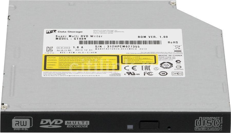 Оптический привод DVD-RW LG GTA0N, внутренний, SATA, черный,  OEM [gtb0n]