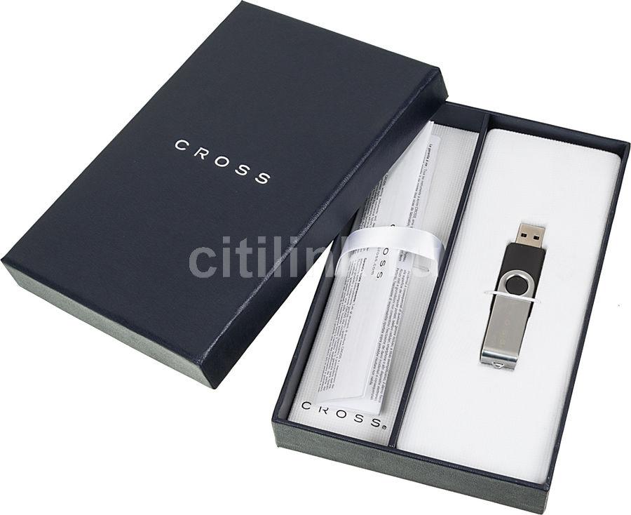 Коробка подарочная Cross (4GB) в компл.:USB Flash Disk