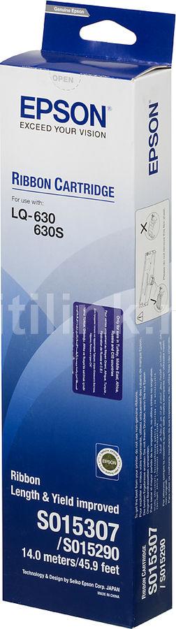 Картридж EPSON C13S015307BA черный