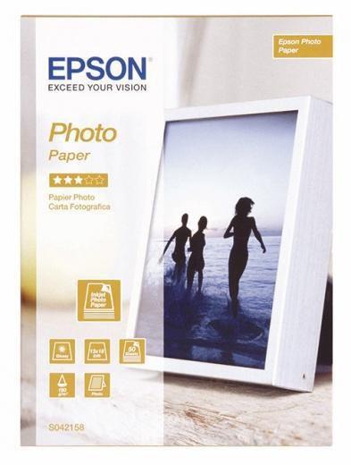 Бумага EPSON C13S042158 Photo Paper 13x18 50 sheets