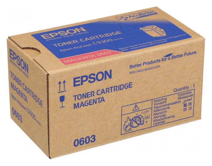 Картридж EPSON C13S050603 пурпурный