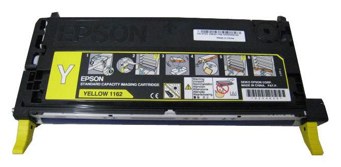Картридж EPSON C13S051162 желтый