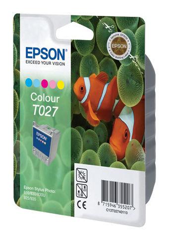 Картридж EPSON C13T02740110 многоцветный