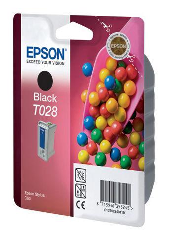 Картридж EPSON C13T02840110 черный