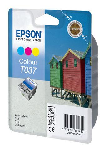 Картридж EPSON C13T03704010 многоцветный