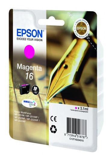 Картридж EPSON C13T16234010 пурпурный