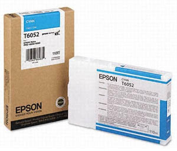 Картридж EPSON T6132 голубой [c13t613200]