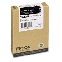 Картридж EPSON T6138 черный матовый [c13t613800]