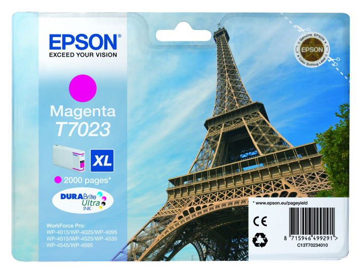 Картридж EPSON C13T70234010 пурпурный