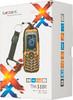 Мобильный телефон TEXET TM-510R  черный/оранжевый вид 12