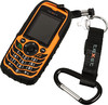 Мобильный телефон TEXET TM-510R  черный/оранжевый вид 5