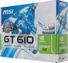 Видеокарта MSI GeForce GT 610,  1Гб, DDR3, Low Profile,  Ret [n610gt-md1gd3/lp] вид 6