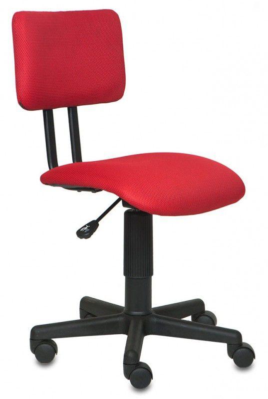 Кресло БЮРОКРАТ CH-200NX, на колесиках, ткань, красный [ch-200nx/tw-97n]