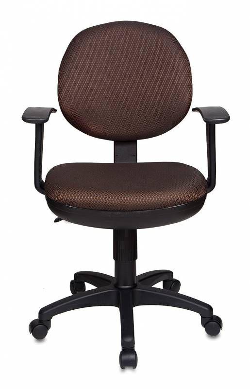Кресло БЮРОКРАТ CH-356AXSN, ткань, коричневый [ch-356axsn/#br]