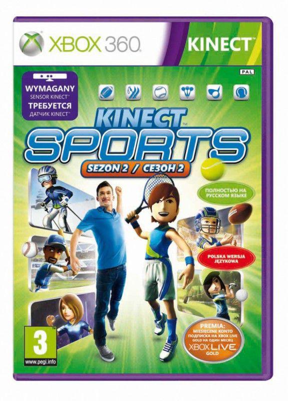 Игра MICROSOFT Sports Season 2 для  Xbox360 RUS (субтитры)
