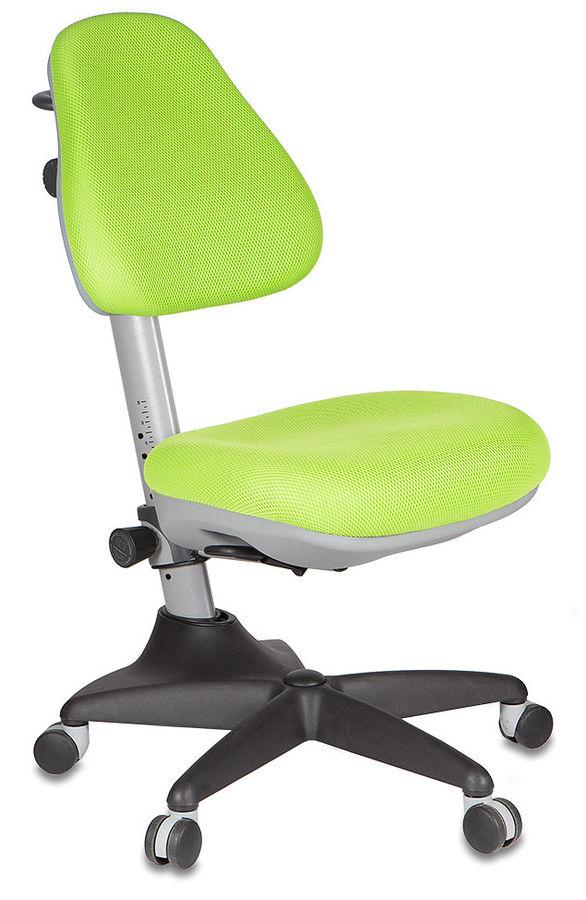 Кресло детское БЮРОКРАТ KD-2, на колесиках, салатовый [kd-2/g/tw-18]