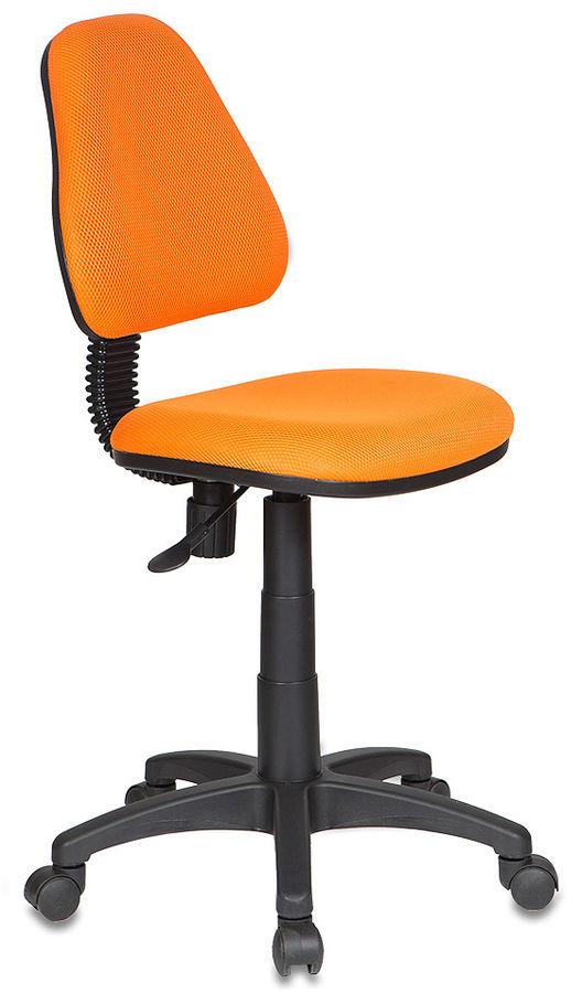 Кресло детское БЮРОКРАТ KD-4, на колесиках, ткань, оранжевый [kd-4/tw-96-1]