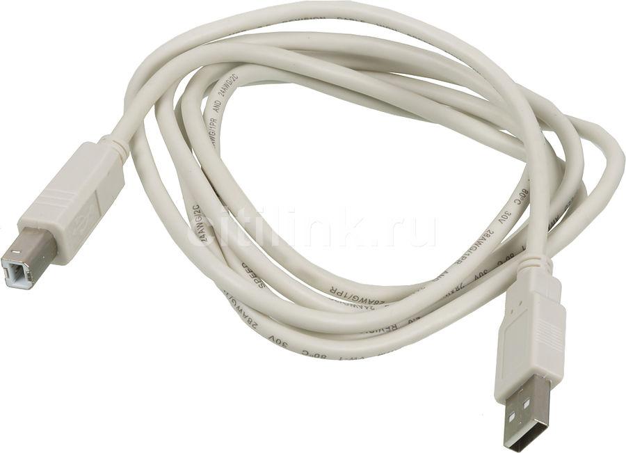 Кабель USB2.0 NINGBO USB A(m) -  USB B(m),  1.8м,  блистер [usb2.0-am-bm-br]