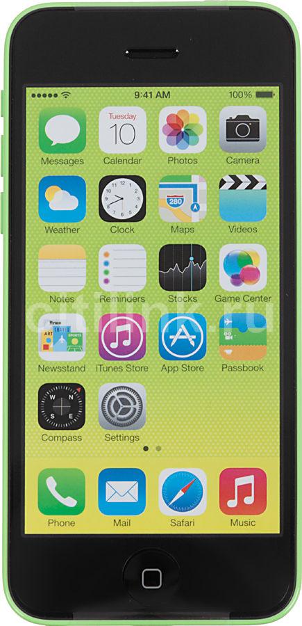 Смартфон APPLE iPhone 5c ME502RU/A  16Gb, зеленый
