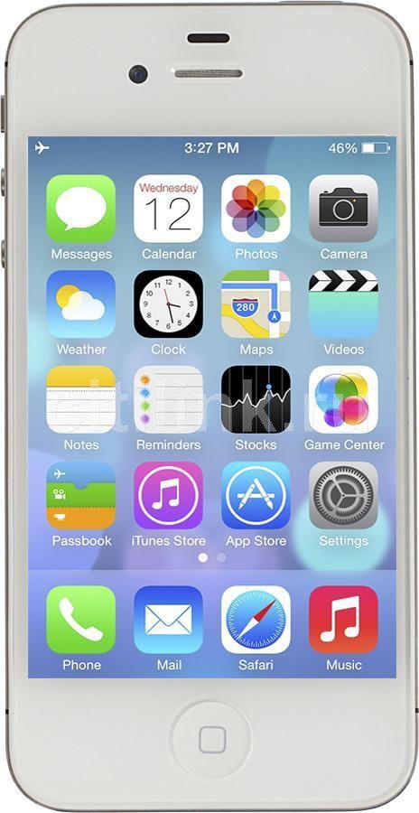 Смартфон APPLE iPhone 4S MF266RU/A  8Gb, белый