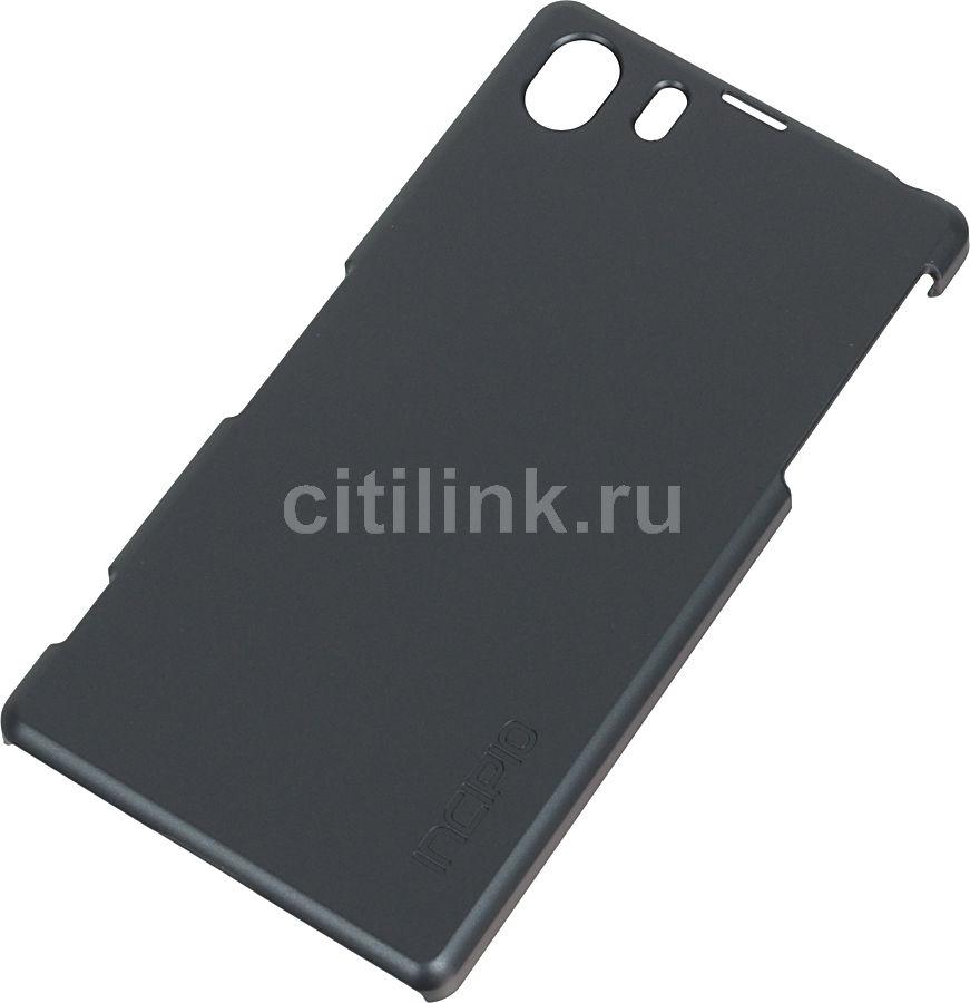 Чехол (клип-кейс) INCIPIO Feather (SE-247), для Sony Xperia Z1, серый