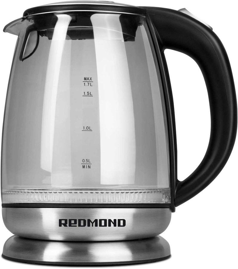 Чайник электрический REDMOND RK-G127, 2200Вт, черный