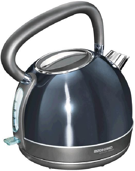 Чайник электрический REDMOND RK-M128, 2000Вт, черный