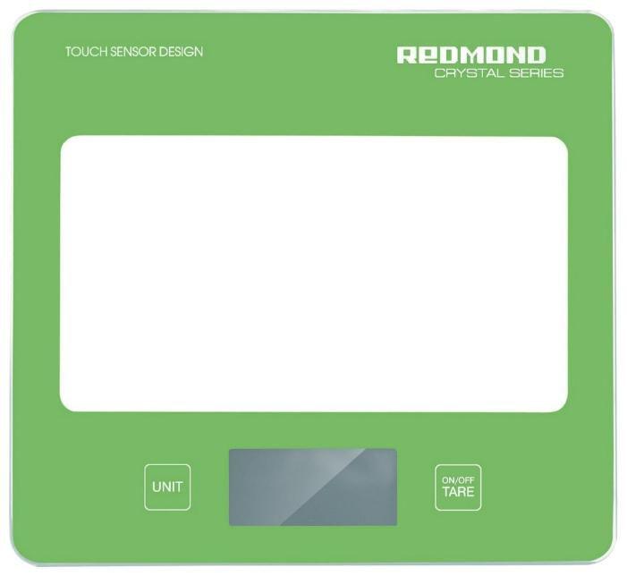 Весы кухонные REDMOND RS-724,  зеленый