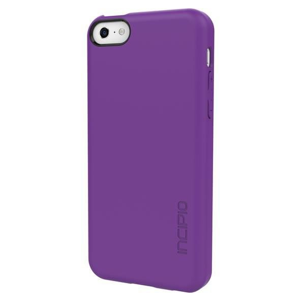 Чехол (клип-кейс) INCIPIO Feather (IPH-1141-PRP), для Apple iPhone 5c, фиолетовый