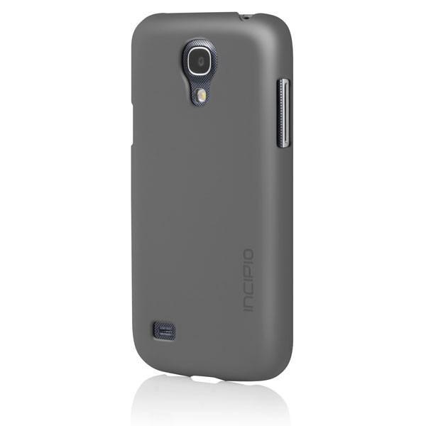 Чехол (клип-кейс) INCIPIO Feather, для Samsung Galaxy S4 mini, серый [sa-418]