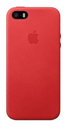 Чехол (клип-кейс) APPLE MF046ZM/A, для Apple iPhone 5s, красный