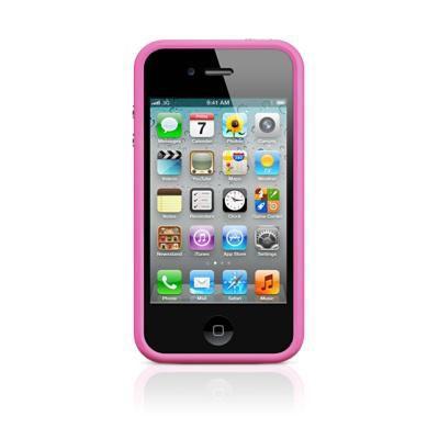 Бампер APPLE MC669ZM/B, для Apple iPhone 4/4S, розовый