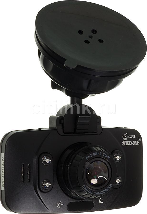 Видеорегистратор SHO-ME HD-1000G черный
