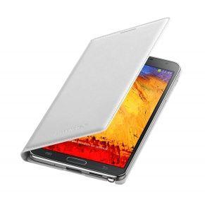 Чехол (флип-кейс) SAMSUNG Flip Wallet, EF-WN900BWE, для Samsung Galaxy Note 3, белый [ef-wn900bwegru]