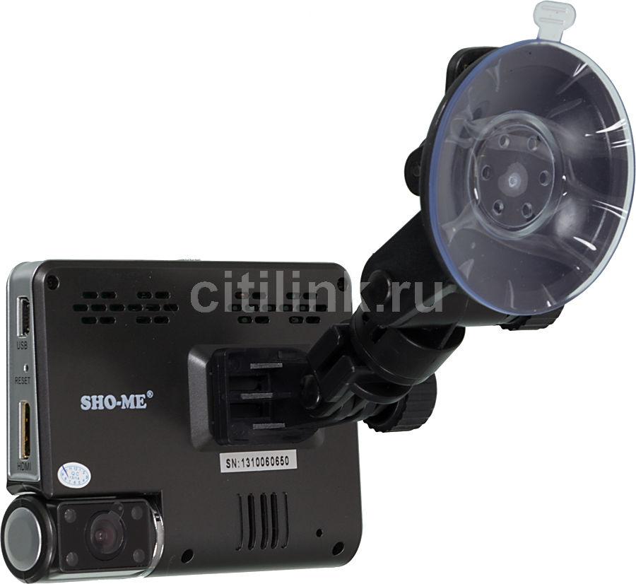 Видеорегистратор SHO-ME HD-130 черный