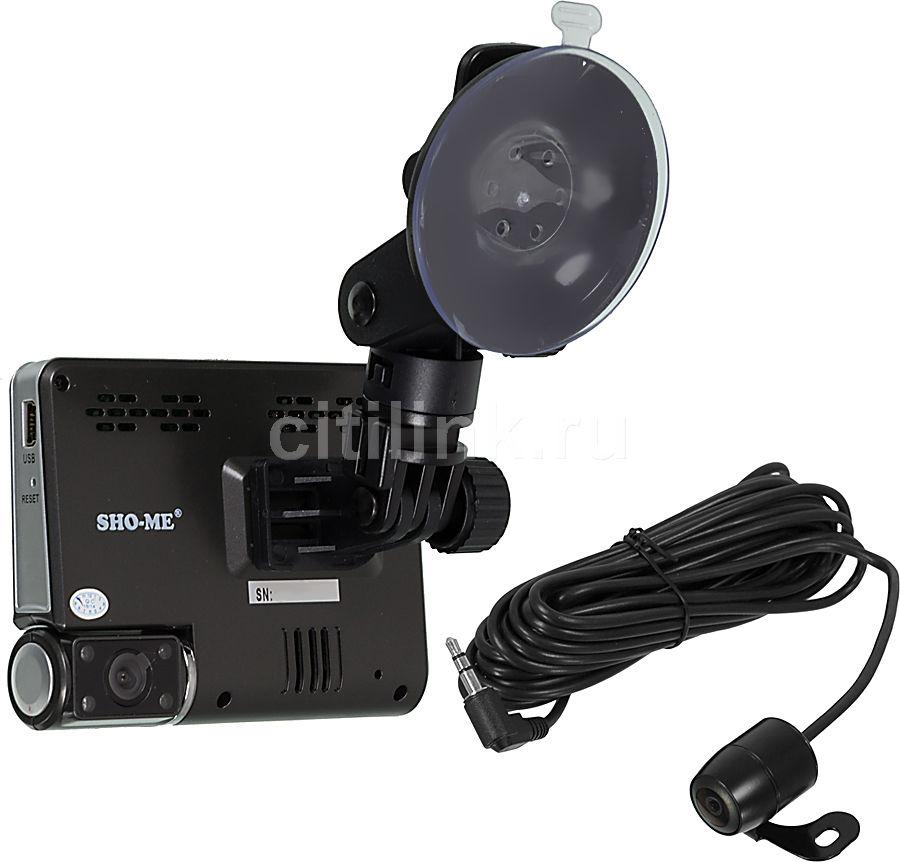 Видеорегистратор SHO-ME HD-130D черный
