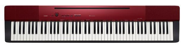 Цифровое фортепиано PRIVIA CASIO PX-A100RD, 88, полновзвешенная, полноразмерные, 128, красный