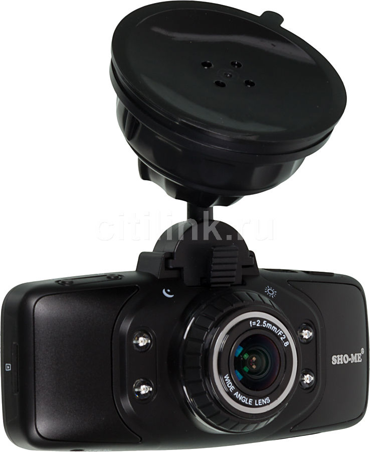 Видеорегистратор SHO-ME HD-7000F черный