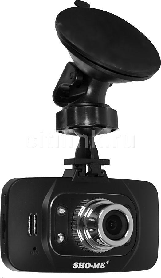 Видеорегистратор SHO-ME HD-8000SX черный