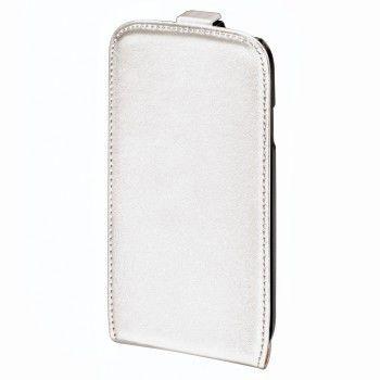Чехол (флип-кейс) HAMA Smart Case, для Samsung Galaxy S III mini, белый