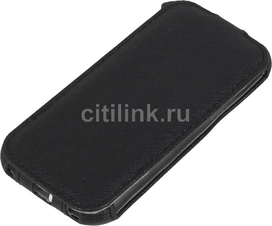 Чехол (флип-кейс) HAMA для Samsung Galaxy S4 mini, черный [00124602]