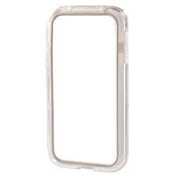 Чехол (клип-кейс) HAMA Edge Protector, для Samsung Galaxy S4 mini, белый [00124621]